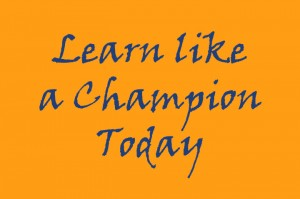 learn like a champion