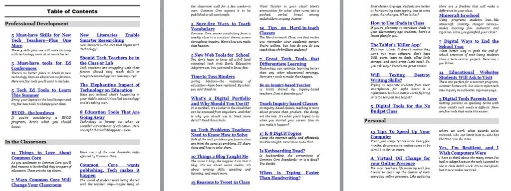 tech ed articles